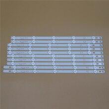 TV LED Light Bars For LG 42LN541C 42LN541U 42LN541V 42LN542V 42LN543V Backlight Strips Kit 10 Lamps Lens Bands LC420DUE