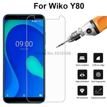 1Pc 2Pcs Glass Cover For Wiko y80 Tempered Glass 9H Premium Mobile Phone