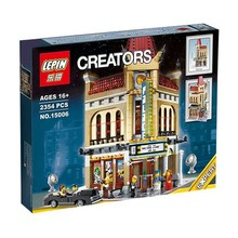 2016 New LEPIN 15006 2354pcs Palace Cinema Model Building Blocks set Mini figures Bricks Toys Compatible with 10232 Gift