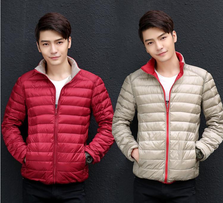 1d2294dd76c 2019 2017 Winter Duck Down Jacket Men Ultra Light Down Jackets ...