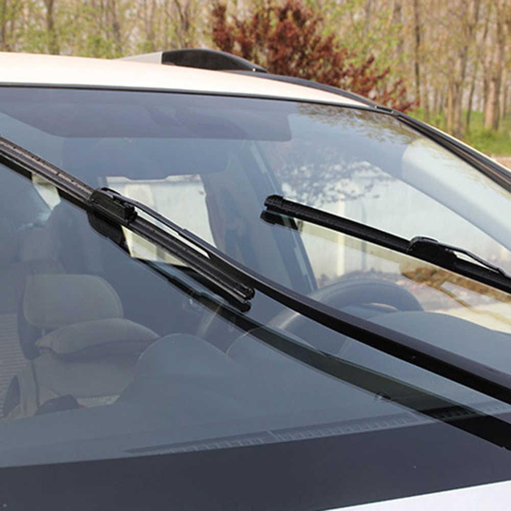 Uniwersalny gumowe wycieraczki samochodowe wycieraczki przedniej szyby samochodu ostrze ramię wymiana