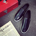 2017 Spring Fashion Men Leather Shoes Flat Driving Shoes Breather Causal Loafers Lazy Slip-on Shoes Chaussure d'homme