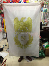 Free shipping  First French Empire flag  /Napoleon/  Banner 150x90cm Big Flag for Celebration