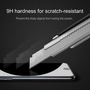 Image 4 - Baseus 3D Tempered Glass For iPhone 8 7 6 6S Plus Screen Protector 0.23mm Soft Edge PET Full Cover Thoughened Film For iPhone8