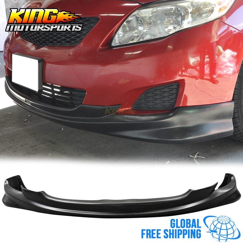 Для 09 10 К Стиль PU передний бампер спойлер для Toyota Corolla Sedan Глобальный Бесплатная доставка по всему миру