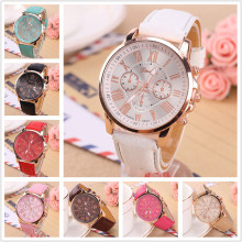 Luxury Roman Number Simple Watches Men Women Dress Casual Clock Ladies Woman Men PU Leather Quartz Wrist Watch Relogio feminino simple fashion wooden printed men women watches pu leather quartz wrist watch analog dial watches clock relogio feminino 2017