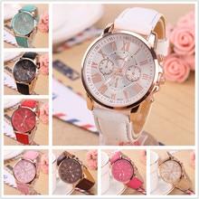 цены Luxury Roman Number Simple Watches Men Women Dress Casual Clock Ladies Woman Men PU Leather Quartz Wrist Watch Relogio feminino