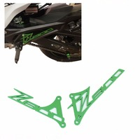 For kawasaki Z800 Foot Peg Heel Plates Guard Protector for Kawasaki Z 800 2013 2014 2015 Motorcycle Accessories