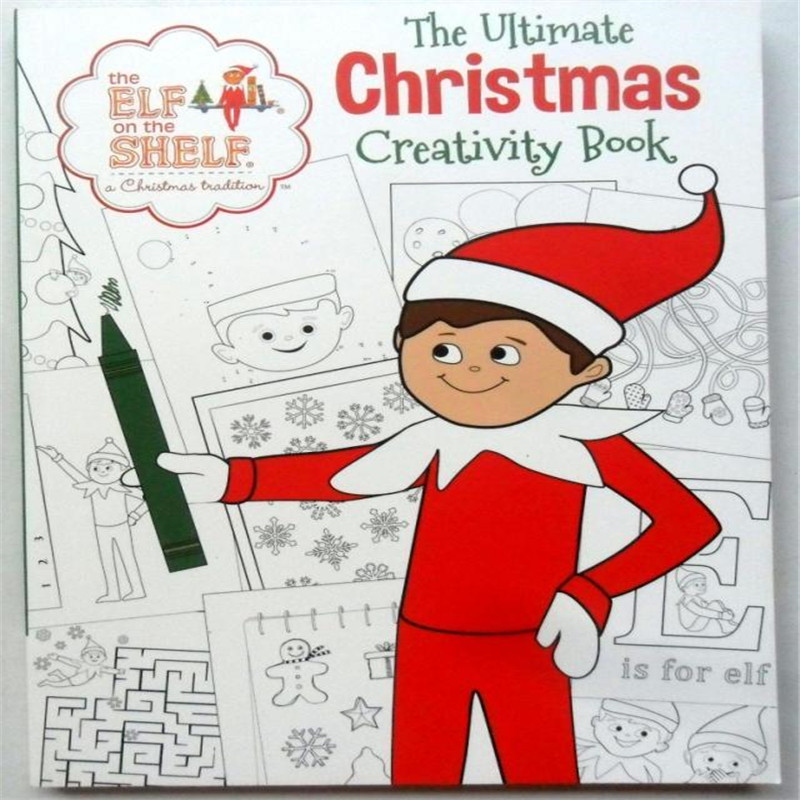 The Ultimate Christmas creativity book For kids baby English Picture Book for Children  Free shipping 7inch free shipping stiched stuffed animalsl christmas gift the pendant goods for creativity brinquedos kids