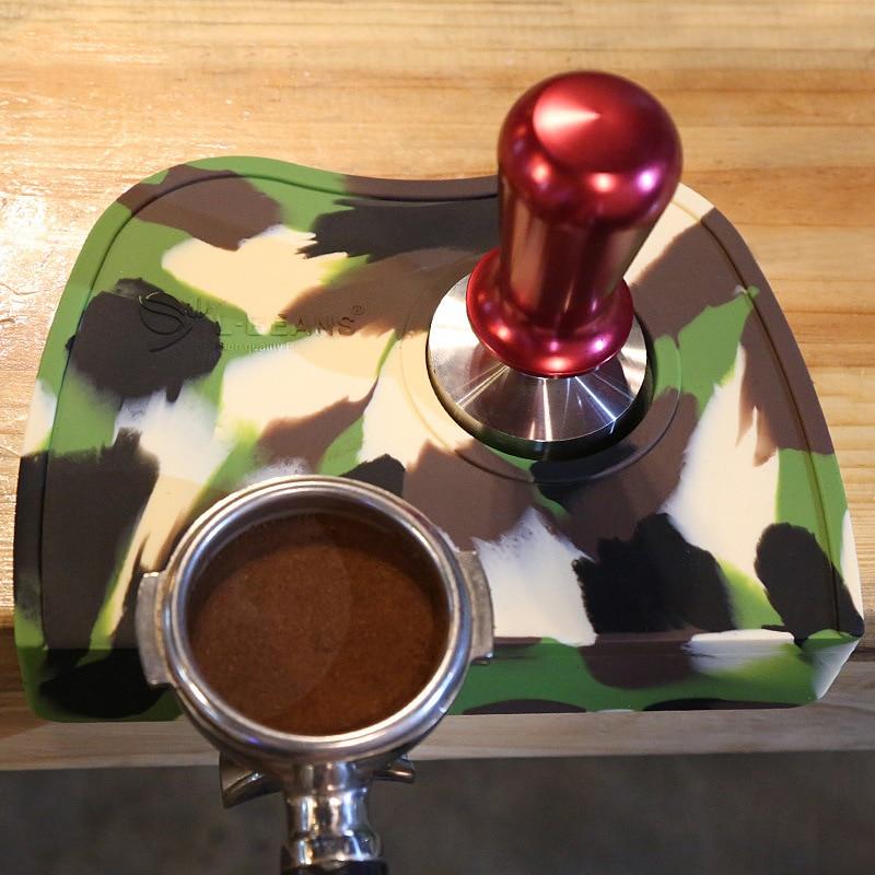 Кававыя дыванкі з дымчатымі кавамі - Кухня, сталовая і бар - Фота 4