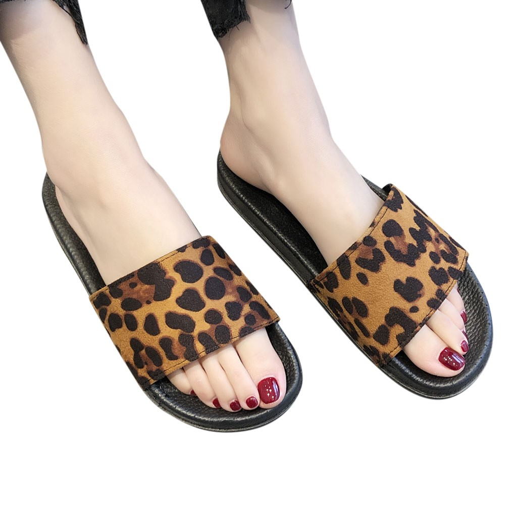 Women Leopard Print Slippers Casual Shoes Slides Bathroom Summer Sandals Slipper fashion Round Toe slipper shoe outside Apr 23Women Leopard Print Slippers Casual Shoes Slides Bathroom Summer Sandals Slipper fashion Round Toe slipper shoe outside Apr 23