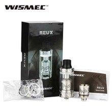 100% original wismec reux tanque atomizador 6 ml capacidad caja mod cigarrillo electrónico atomizador ajuste para rx300/rx200/rx200s/rx2/3 mods
