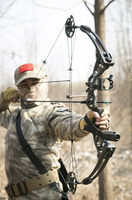 Archery Compound Hunting Sets With Sight Release Arrow Rest