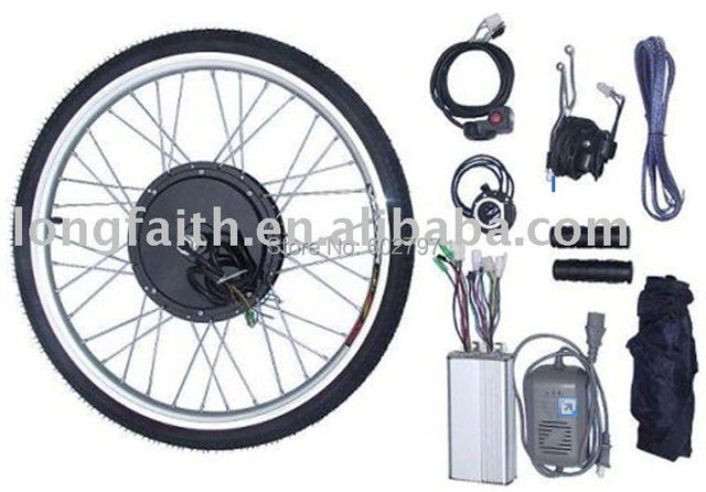24V 200W Front Wheel e-bike,e-bicycle,ebike,electric bicycle,electric bike conversion kits with brushless gearless hub motor