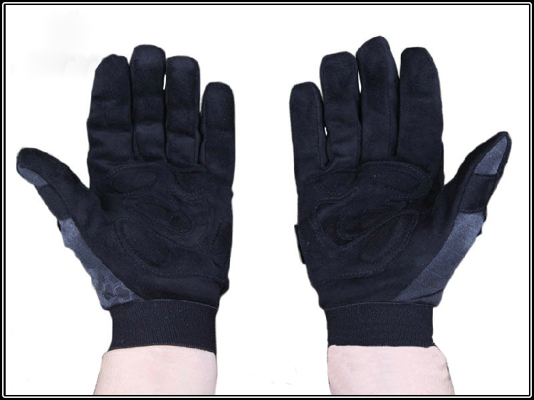 Tactical Camo trainning gloves full finger Tyhone hunting gloves Mandrake Highlander