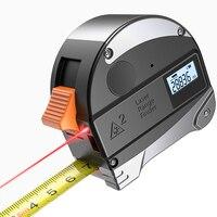 Medida de aço resistente da fita da elevada precisão do localizador da escala do instrumento de medição da distância da medida da fita de 30 m digital infravermelha