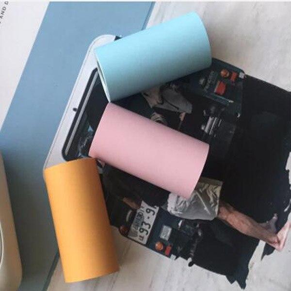PeriPage paper ANG термобумага этикетка бумажный стикер бумага для фотопринтера - Цвет: Color Sticker Paper