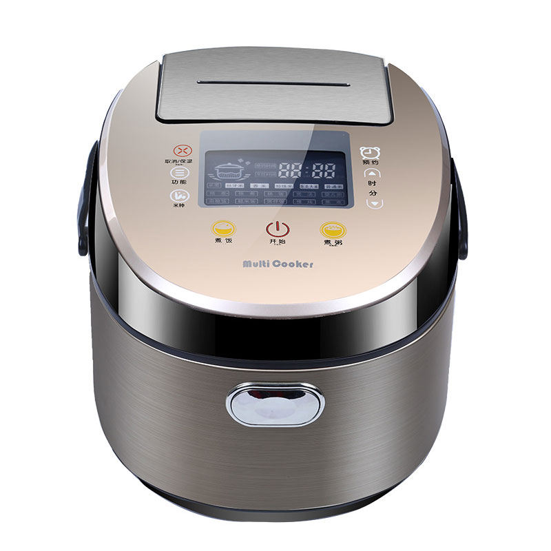 4L 5L Rice Cooker Home Appliances 700W Cooking Appliances Q4-03 Timing Kitchen Appliances Porridge Cooking Soup Stewing