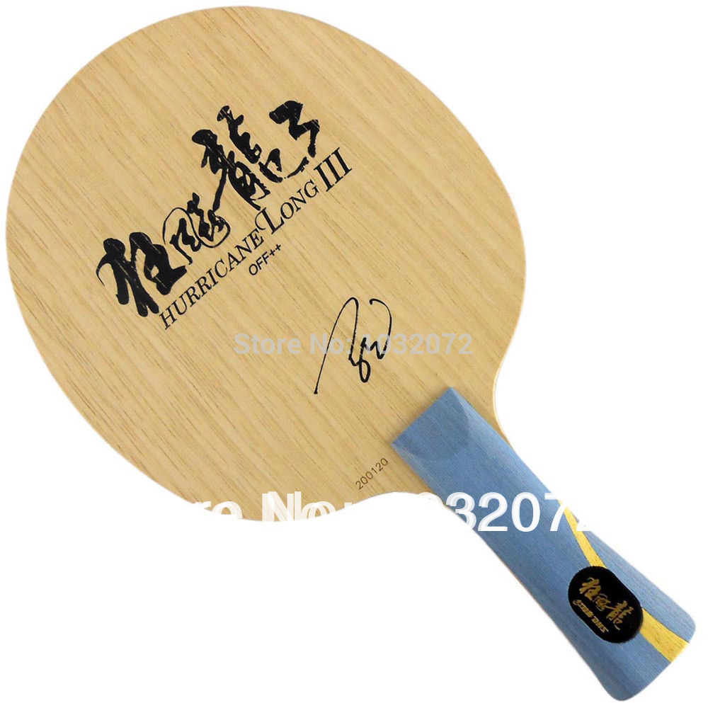 DHS Hurricane Long III (Hurricane Long-3) Shakehand Table Tennis / PingPong Blade цена и фото