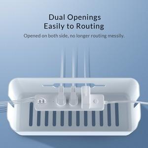 Image 5 - Orico power strip caixa de armazenamento cabo organizador para power bank usb carregador caixa de gestão cabo
