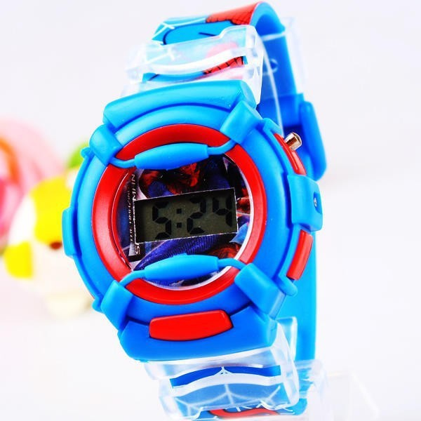 2014-New-Fashion-Cartoon-Despicable-Me-Minion-Watch-Children-Silicone-Digital-Sports-Wristwatches-Boys-Spiderman-Watch (3)