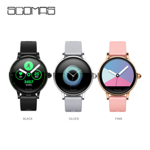 SCOMAS S9 Smart Watch IPS Color Screen bracelet women Fashion Fitness Tracker Heart Rate monitor Silicone magnetic strap