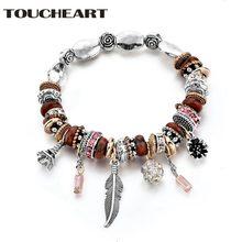 Toucheart богемный новейший дизайн браслет с шармами для женщин