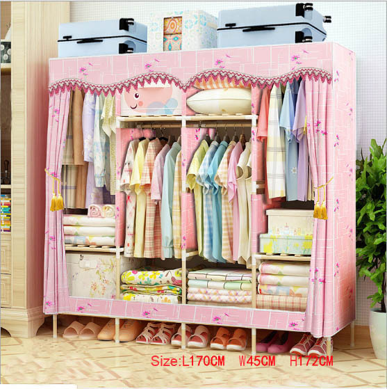 Factory Price Solid Wood Wardrobe  length 170 cm