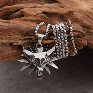 Fate Love Silver Stainless Steel Mens Jewelry