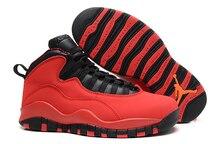 3383988155fc8d Hot 2018 Jordan Air Retro 10 X Man Basketball Shoes White and black red  venom stealth