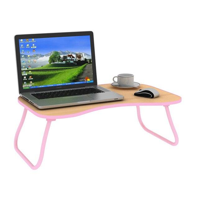 La cama con plegable ordenador portátil perezoso pequeño escritorio ...
