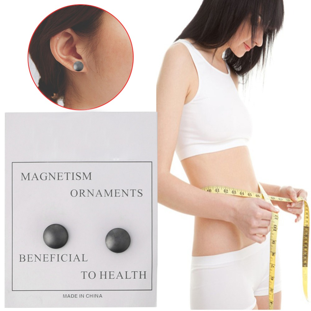 Slim font b Weight b font font b Loss b font Earrings Slimming Stimulating Acupoints Earring