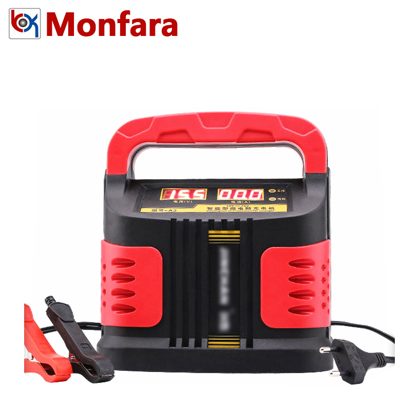 12 В 24 в ЖК-дисплей Автомобиль Мотоцикл лодка тестер для батарей батарея зарядное устройство герметичный AGM гель без ухода Авто 12 Вольт 24 В 120AH...