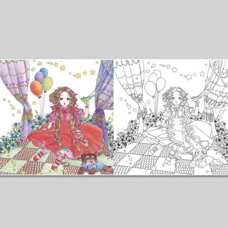 De Tovenaar van Oz Kleurboek Voor Volwassen Kinderen Kids Geheime ...