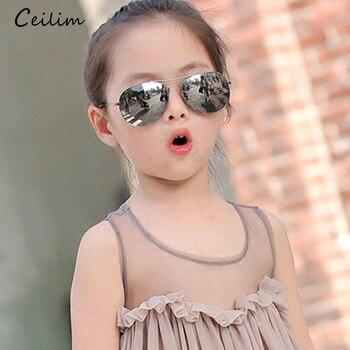 4294bb2c35 2019 niños gafas de sol para niños moda niños niñas bebé niño 90 gafas de  sol
