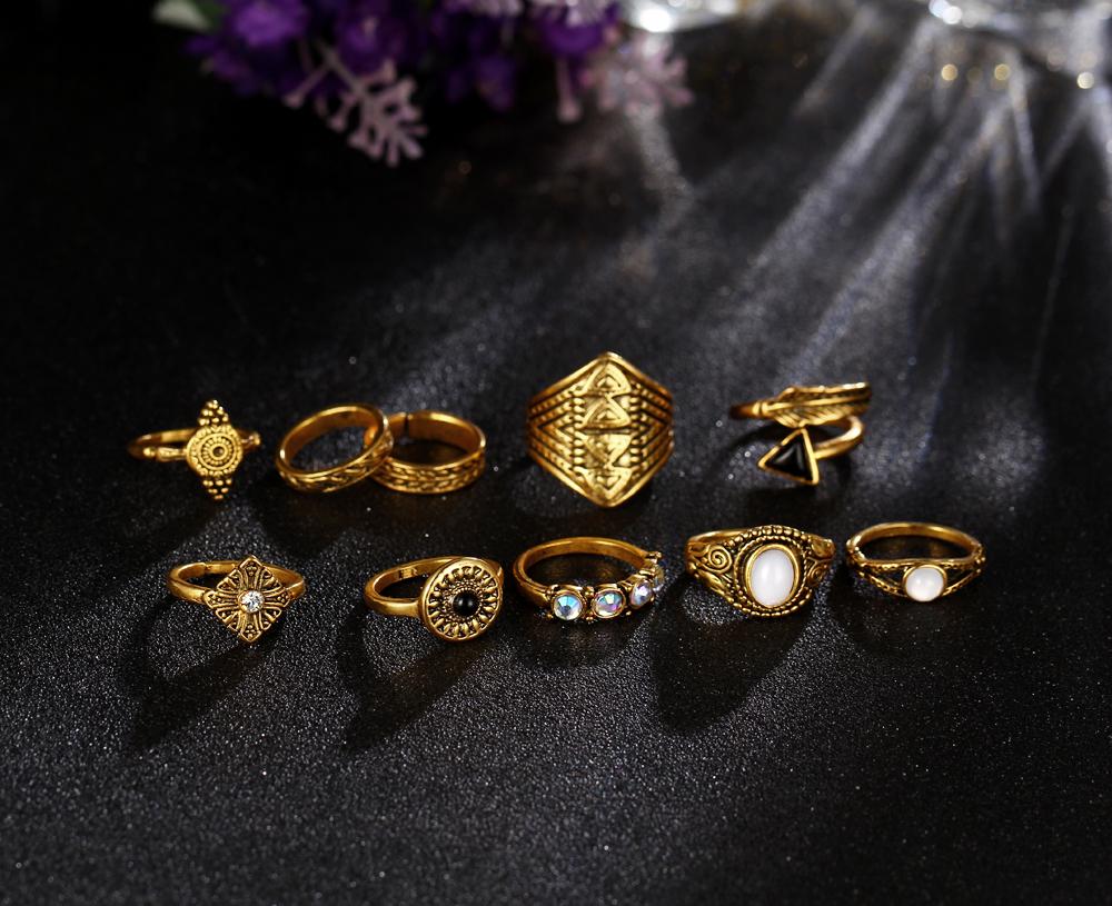 HTB1S53cRXXXXXcKXpXXq6xXFXXXo Tribal Fashion 10-Pieces Vintage Midi Ring Set With Opal Stones - 2 Colors