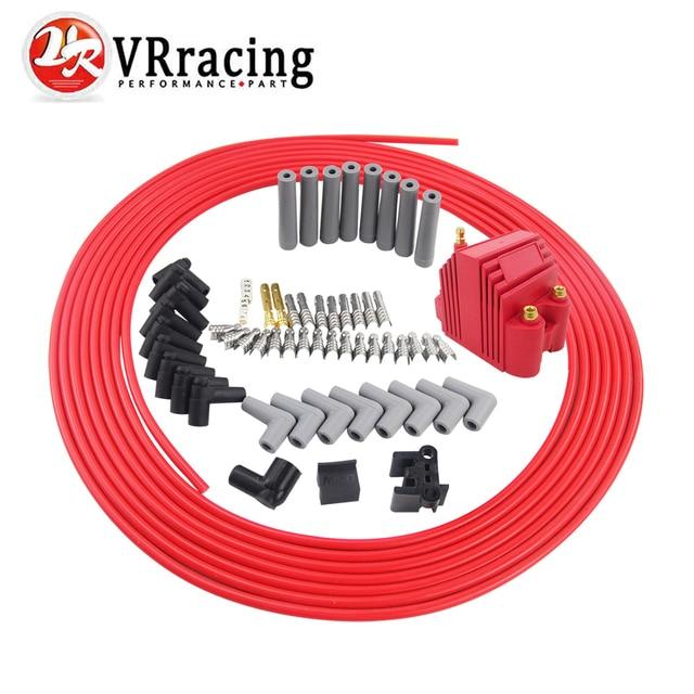 vr racing 10m set spark plug wires spiral core 8 5mm 12v e core rh aliexpress com