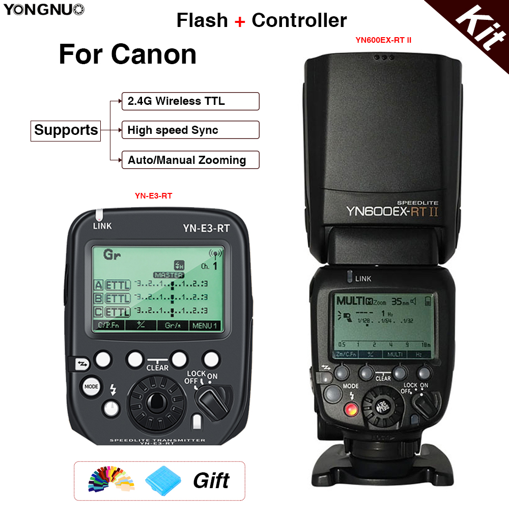 YONGNUO YN-E3-RT II Flash Trigger Compatible with Canon Cameras ...