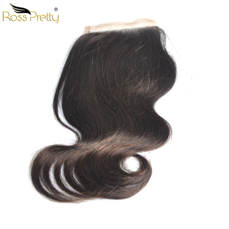 Double Draw Quality Peruvian Virgin Hair Lace closure Fullest Brazilian body wave Closure Full and Silky Middle part and 3Parts
