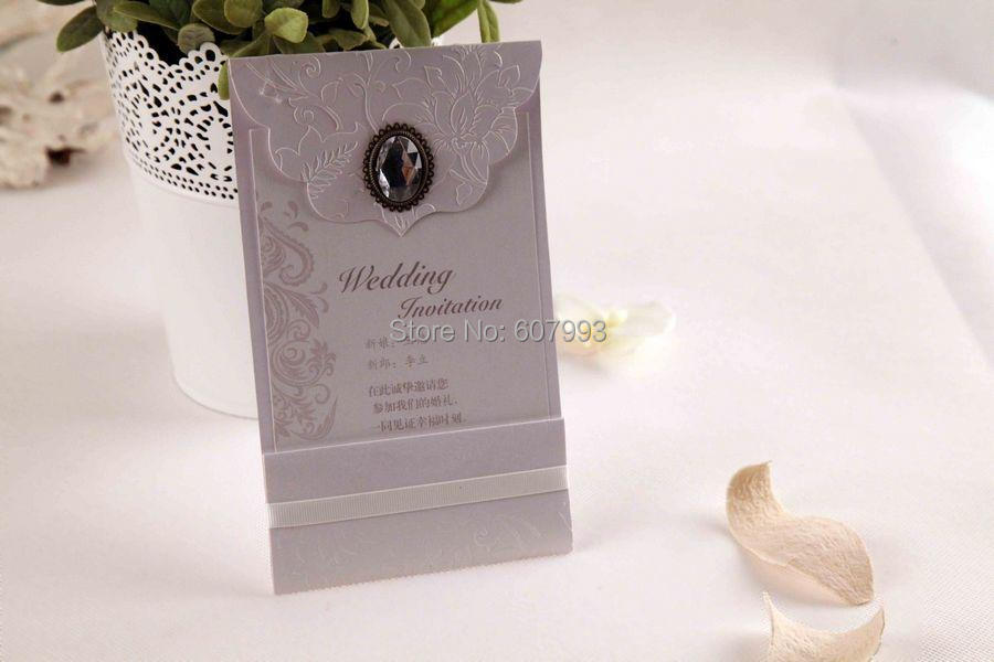 Classical Luxury Crystal wedding Invitation cards, Birthday Business ...
