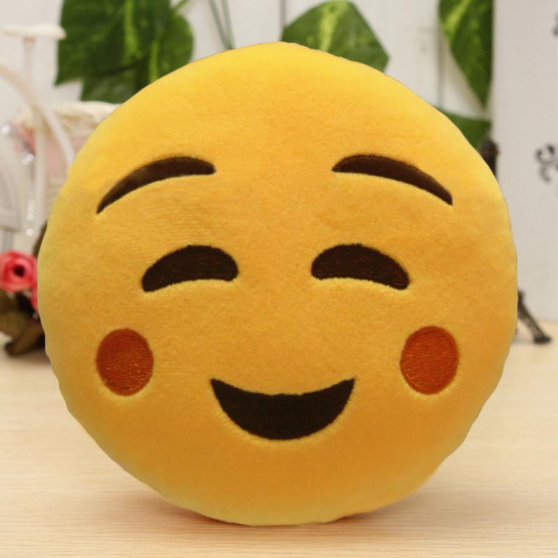 Μόδα 6 ίντσες Lovely Emoji Smiley Μαξιλάρια - Αρχική υφάσματα - Φωτογραφία 6