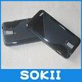 For Huawei U9510E T9510E U9500E Wave S Line Gel Skin Case Cover,Matte Soft TPU Gel S-Line Elegant Case For Huawei D1 cases