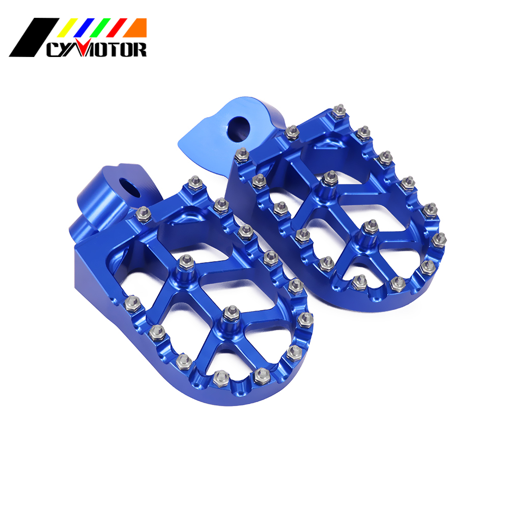 CNC Motorbike Foot Pegs Motorcycle Footpeg For Husqvarna TE250 TE350 CR SM SMR TC TE TXC