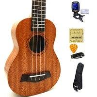 SevenAngel Ukulele Concert Soprano Tenor Mini Acoustic Travel guitar electric Ukelele Guitarra String instruments W /Pick Up EQ