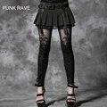 Punk Rave KERA Gótico patrón decorativo en relieve Strechy jadean Steampunk moda Mujer S M L XL XXL 3XL 4XL K144