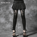 Punk Rave KERA Gothic embossed decorative pattern Strechy leggings Pants Steampunk Women fashion S M L XL XXL 3XL 4XL K144