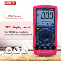UNI T UT58A UT58B UT58C UT58D UT58E Digital Multimeter Ammeter ohmmeter DC/AC Voltage Inductance Tester With Function symbols
