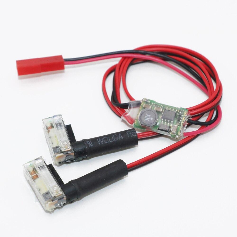 купить 1pcs Xenon Night Strobe Flash Light Automatic Power input 5V-26V wide voltage For FPV Multicopter RC Quadcopter Wholesale по цене 797.45 рублей