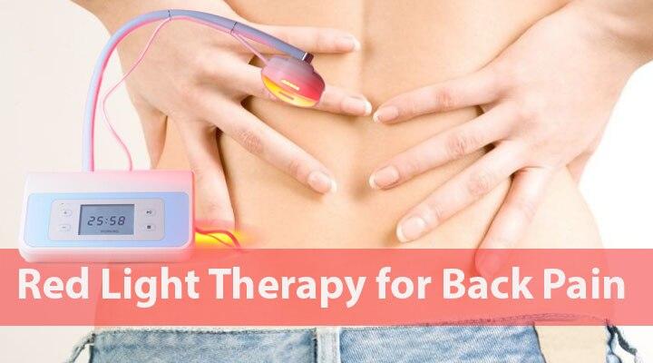 Новейший красный светильник терапевтическое устройство для домашнего использования с CE для облегчения боли в спине