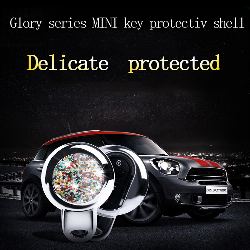 Detail Feedback Questions About Alloy Diamond Car Key Case Cover
